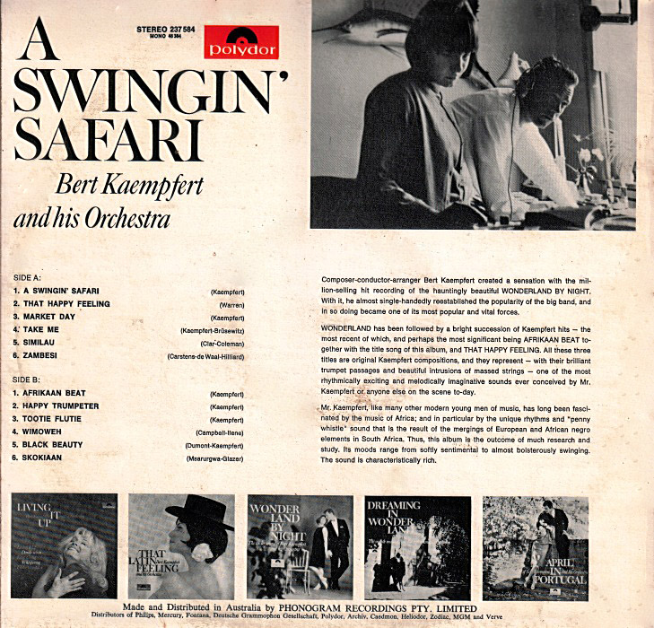 Swinging safari kaempfert download