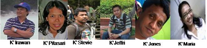 Pengurus Dan Pembina Persekutuan Teruna PT GPIB Anugerah Bekasi