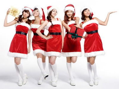 desktop backgrounds for girls. High Quality Xmas Girls