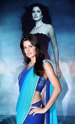 Katrina Kaif in Saree Photos