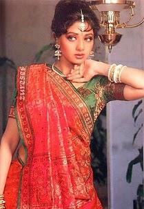 Sridevi in Saree Photos