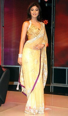 Shilpa Shetty in Saree Photos Pics