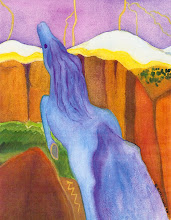 Waterhorse (Painting by Mitzi Linn