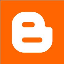 large blogger square logo