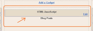 Add A Scrolling Marquee Recent Posts Gadget To Your Blog