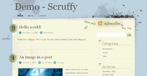 Best Web Design Blogger Templates