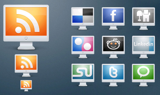 Best Free Computer Social Icons