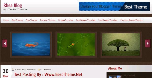 Best magazine Blogger Templates