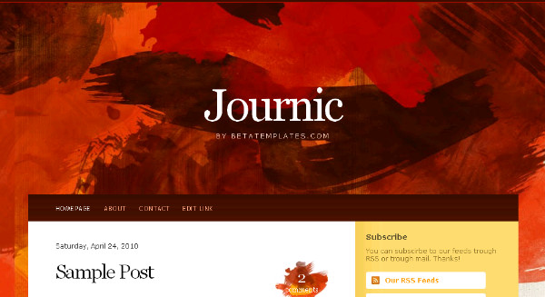 Best Art Blogger Templates