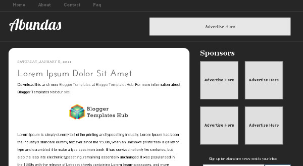 Best Black Blogger Templates