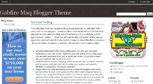 Best Vintage Blogger Templates