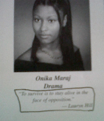 nicki minaj young age. this young woman is absolutely