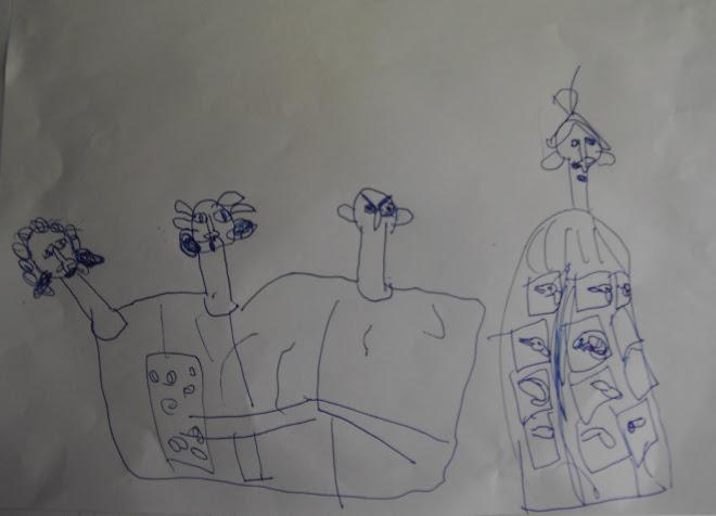 "lucrarea ""insemn in semn"" vazuta prin ochii Ruxandrei Tun, 6 ani"