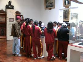 VISITA AL MUSEO NAVAL DEL CALLAO
