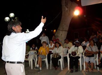 CANTO A HURIN HUANCHO: DECLAMACIÓN DEL PROFESOR ARTURO VÁSQUEZ ESCOBAR.