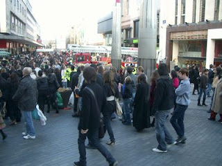 Fire at Waterstone's