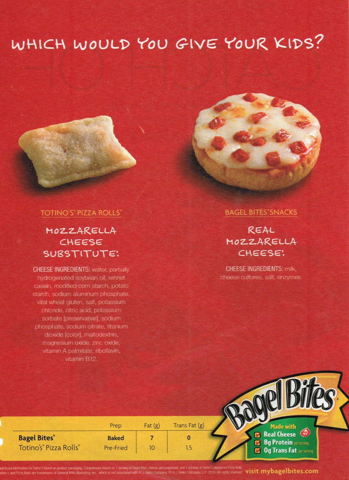 weighty matters: badvertising bagel bites