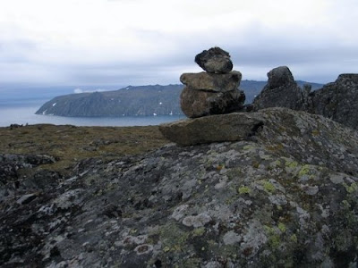 Feldsparia october 2010 you really can see russia from alaska this is picture from the top of little diomede alaska looking across to big diomede siberia publicscrutiny Images