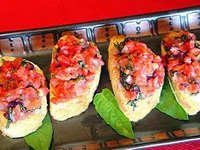 Bruschetta De Tomate Light