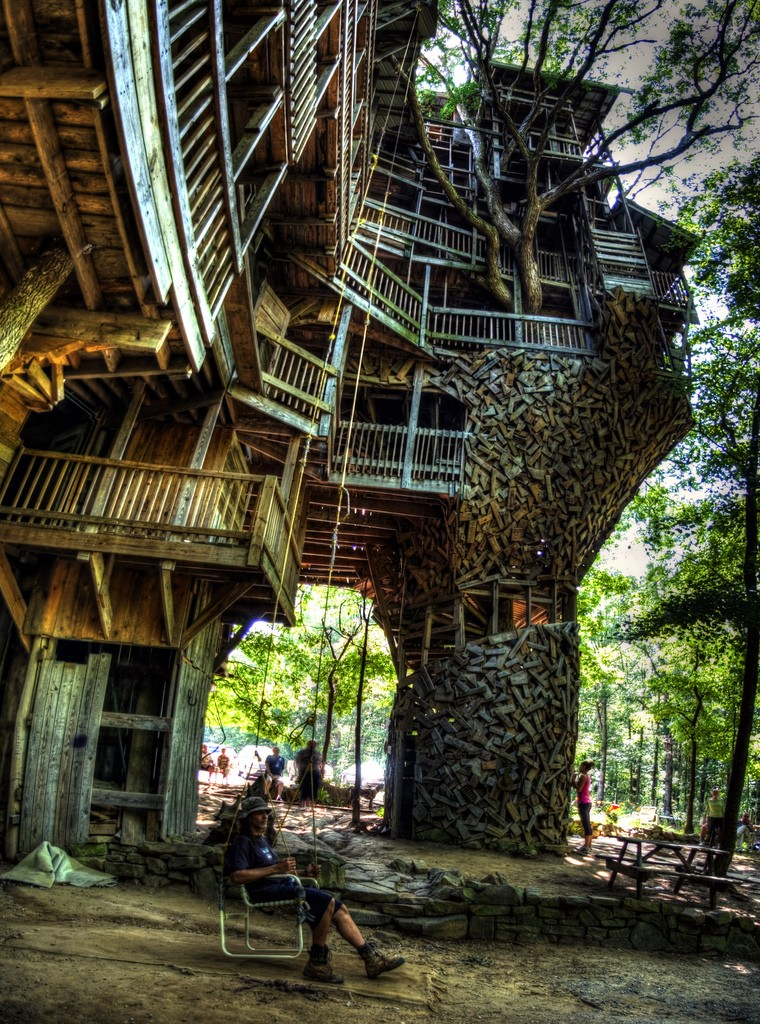 World of mysteries best treehouse ever for Worlds best house