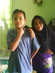 alim dan adik sue..