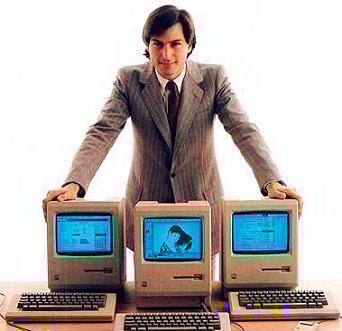 steve jobs de joven mac