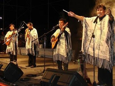 los kjarkas en concierto