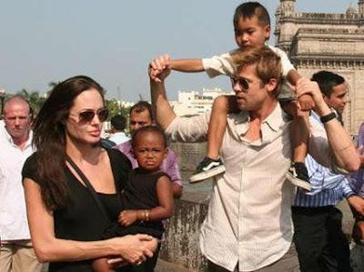 angelina jolie y brad pitt y sus hijos adoptivos fotos