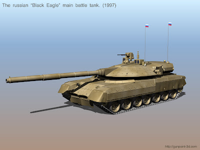 T95 Black Eagle Russian Tank