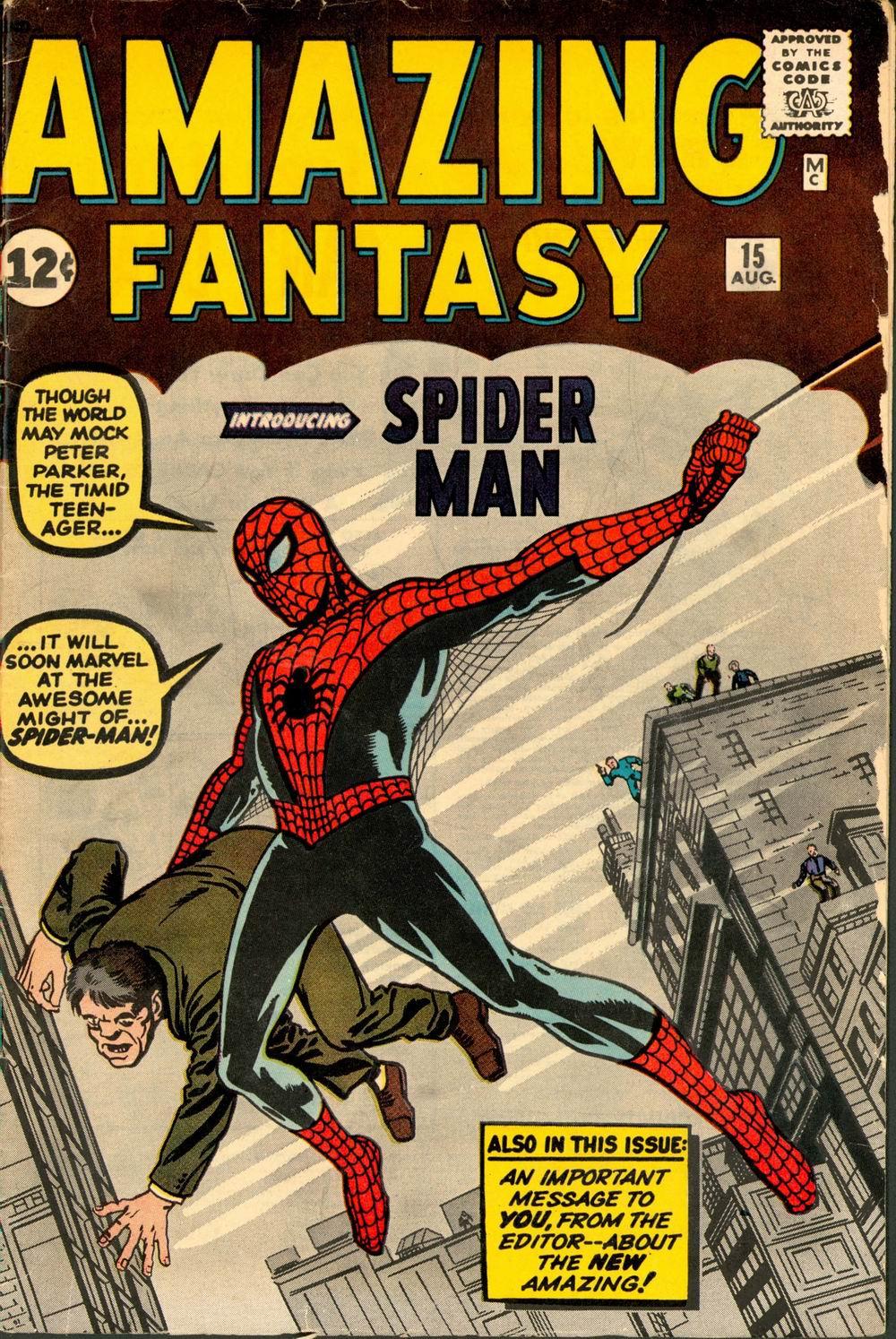 Silver Age Comics: Amazing Fantasy #15