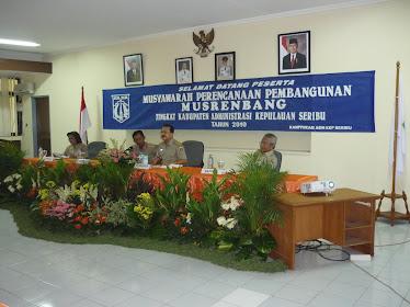 Musrembang Kep.seribu Th. 2010