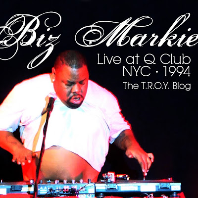 Wax Museum Records Biz Markie Live At Q Club Nyc 1994