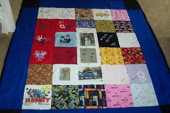 David's new quilt