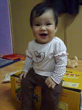 najah with her polkatots