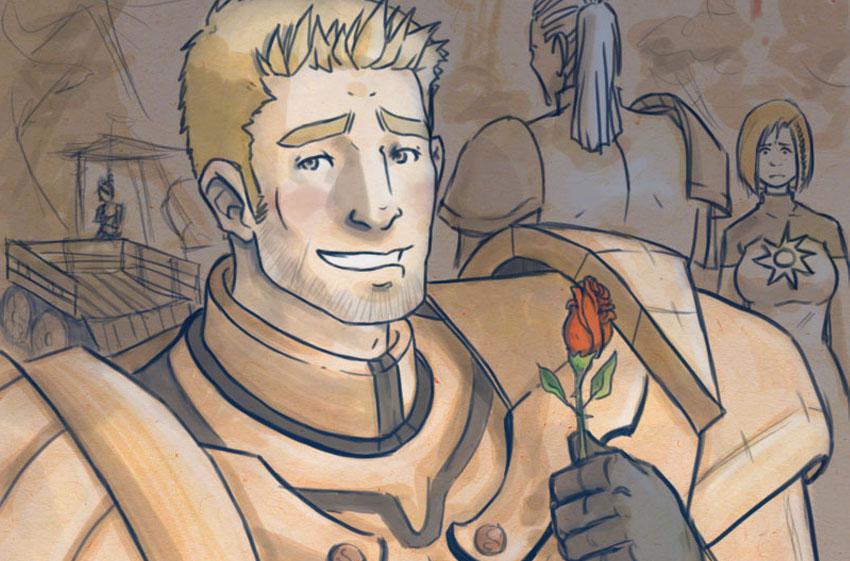 Dragon Age Leliana Romance. Leliana: