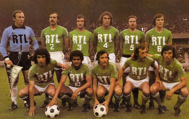 Finale coupe de france 1977 st etienne stade de reims the vintage football club - St etienne coupe d europe ...