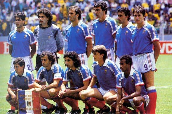 Le match france bresil 1 4 de finale the vintage - Ballon coupe du monde 1986 ...