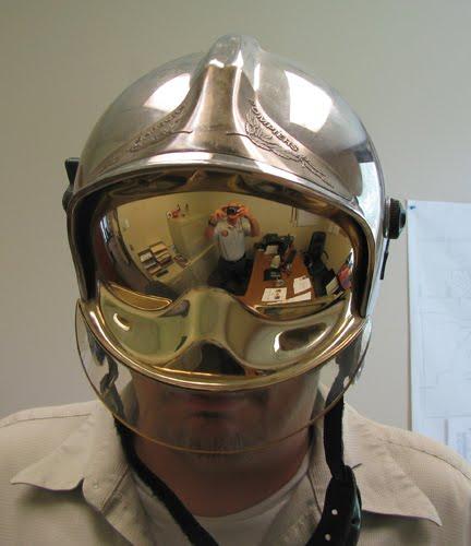 fireman helmet drawing. I interviewed the new fire