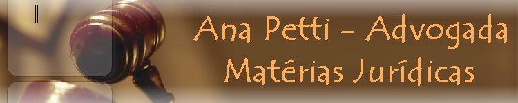 Ana Petti - Advogada e colunista