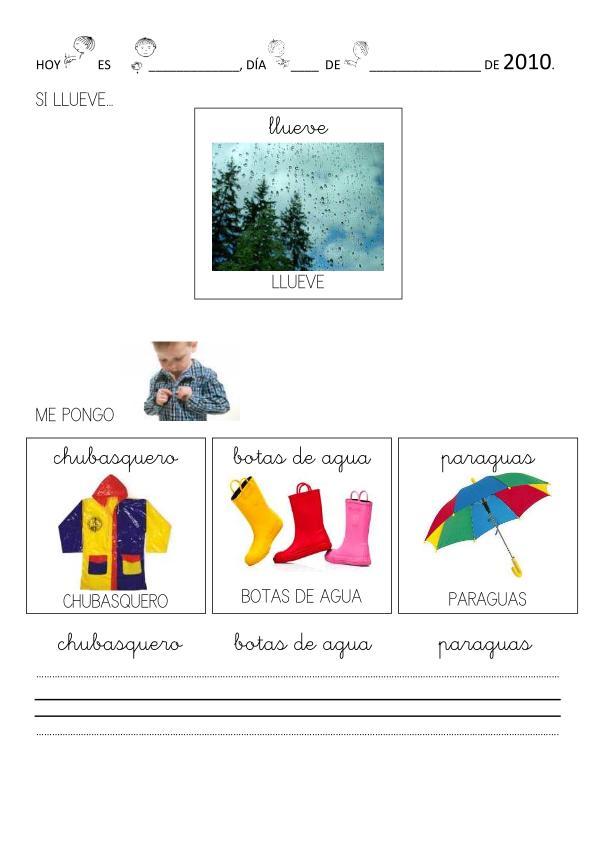 SUSANA Maestra de A.L.: FICHAS de la ropa de OTOÑO