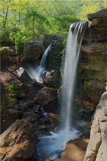 Photograph of Garvan Gardens Waterfall