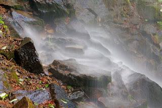 Mt. Nebo Falls Closeup