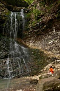 Daniel at Eden Falls