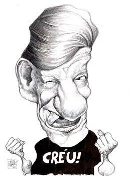 Caricatura de famosos: costinha
