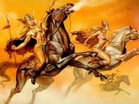 O que foram as Amazonas, Camicases e os Gladiadores