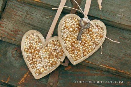Сердца из подручных материалов