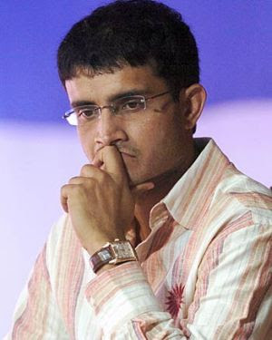 WHY SAURAV GANGULI SHOWN THE DOOR