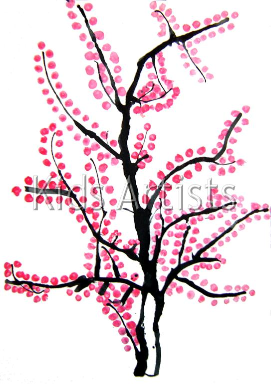 japanese cherry tree drawing. japanese cherry tree drawing.