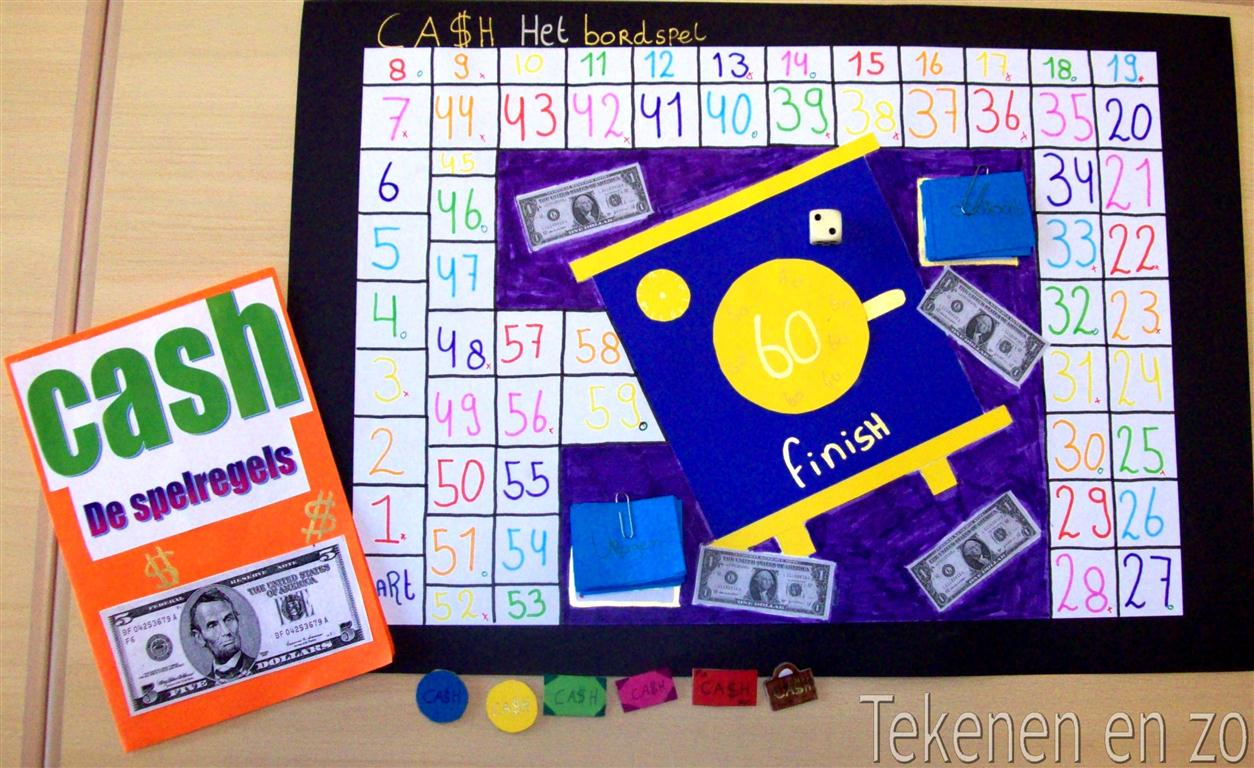Tekenen en zo: Ontwerp je eigen bordspel!