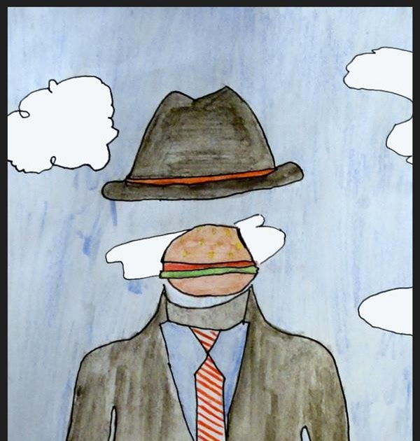 These Are Not Magrittes Blogs >> Kids Artists In The Style Of Rene Magritte 2